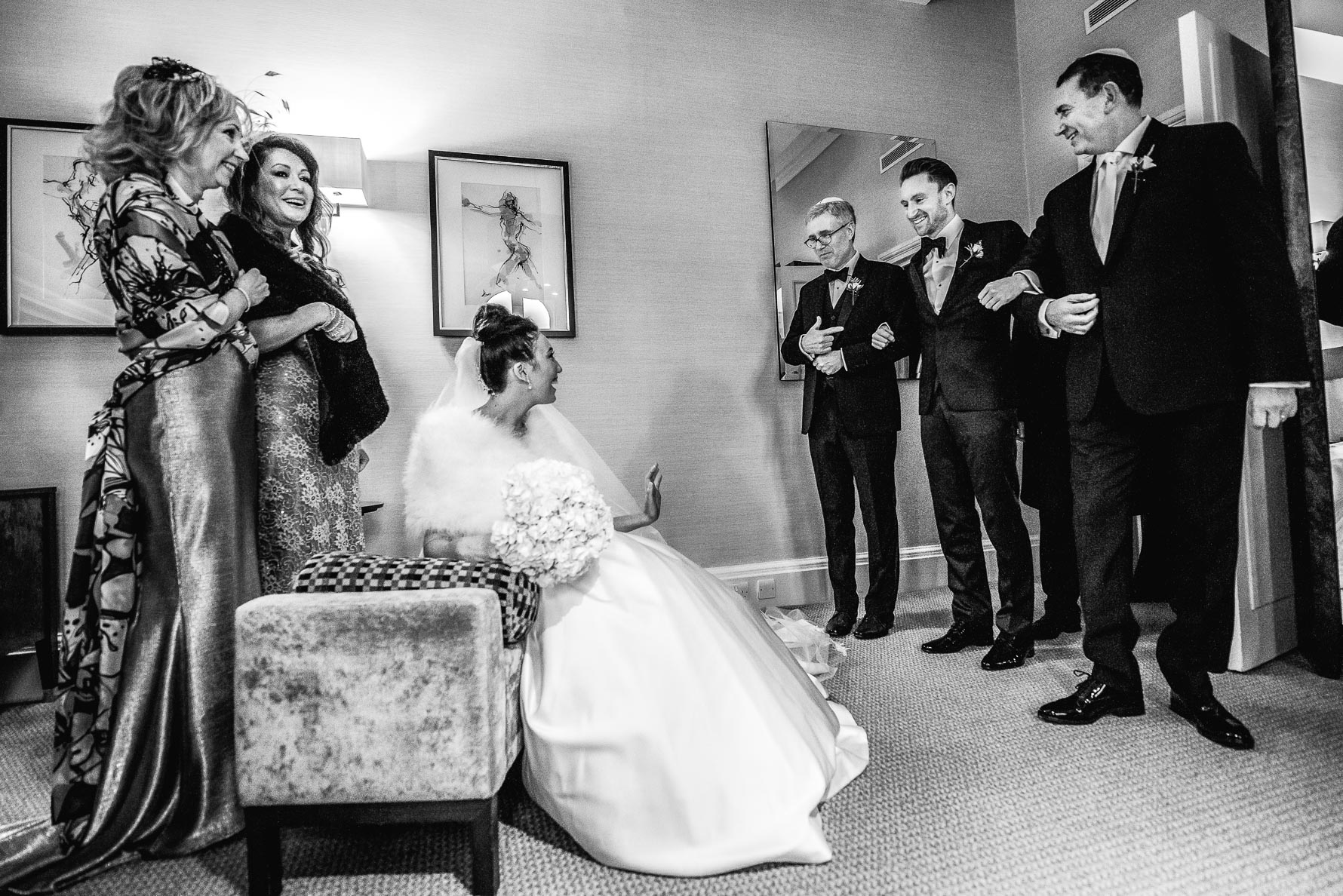 groom entered tisch