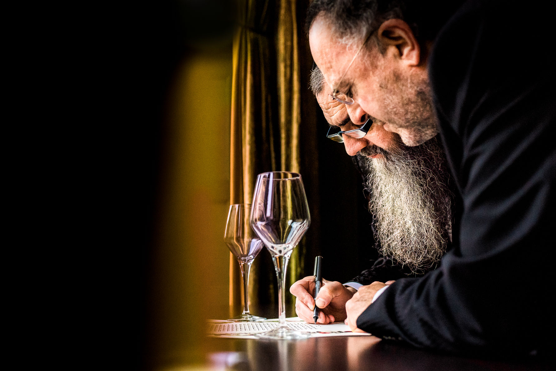 signing the register rabbi