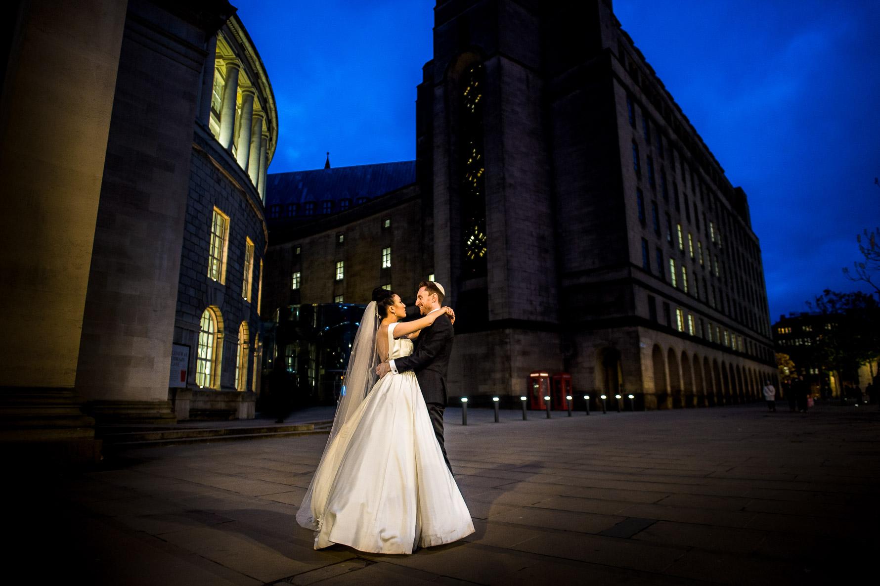 wedding photo in colour