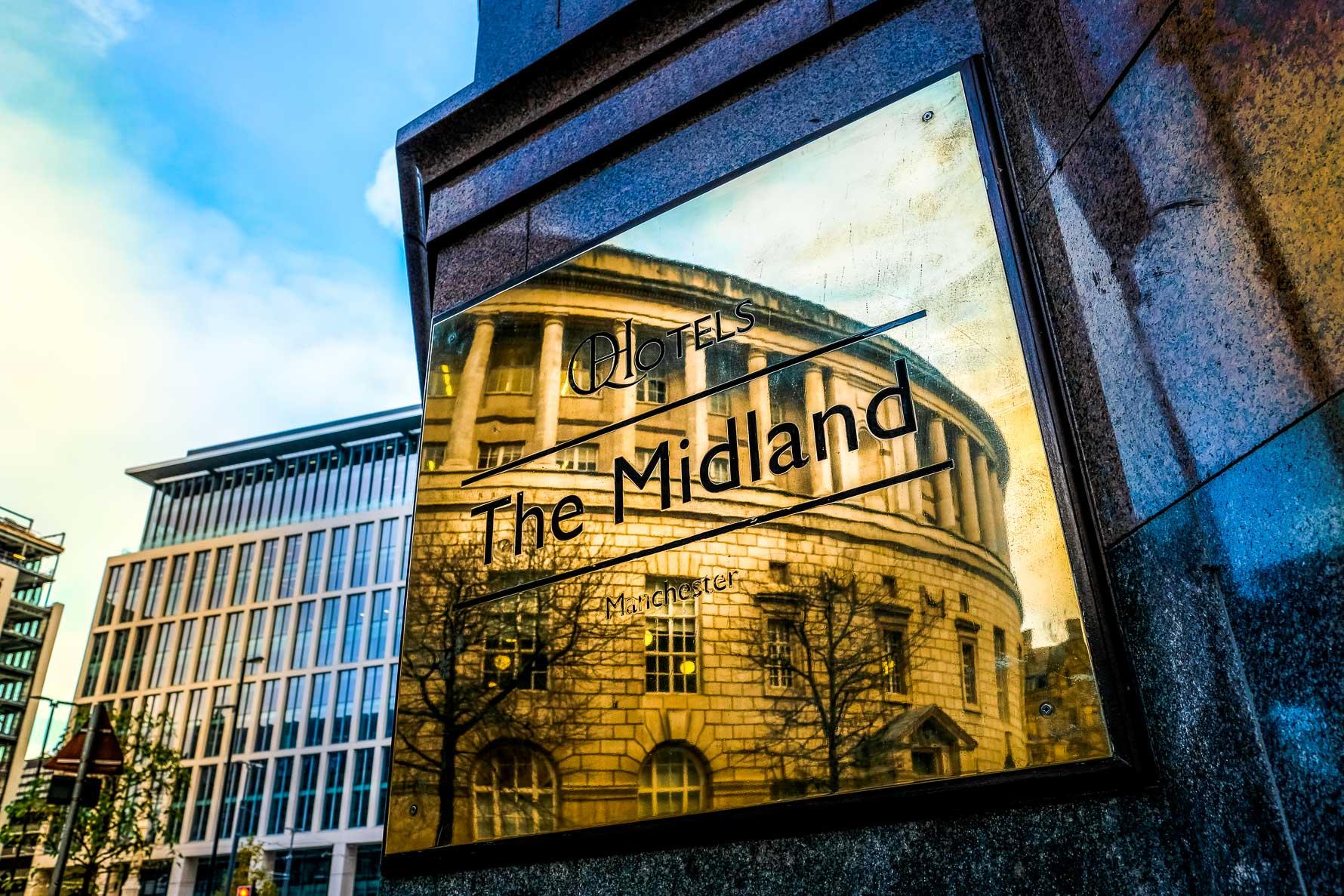 midland hotel sign