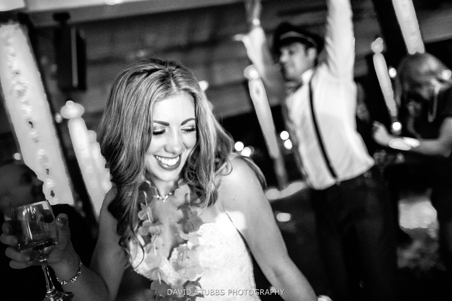 documentary wedding photography at Victoria warehouse