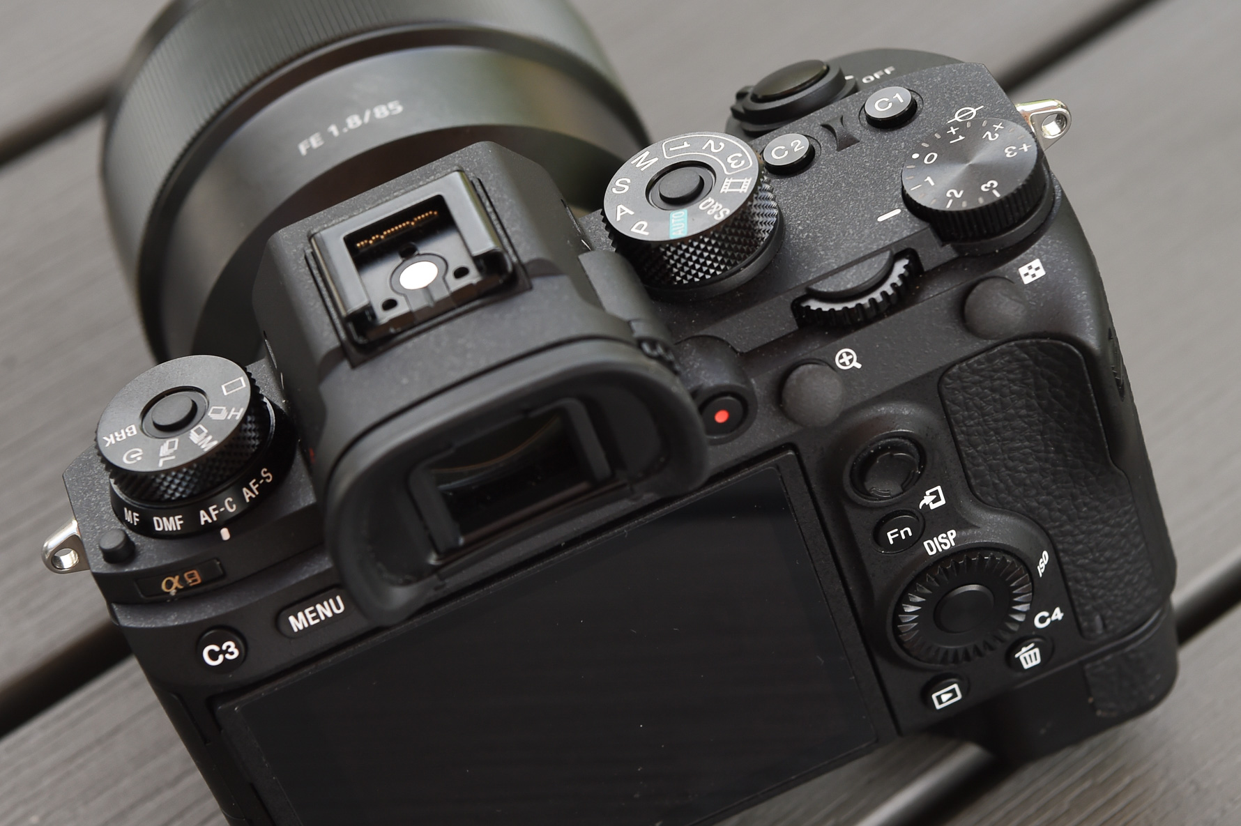 custom buttons on sony a9