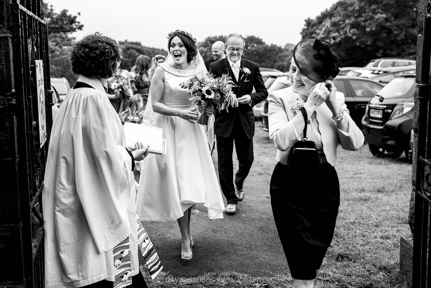 laughter and smiles before wedding