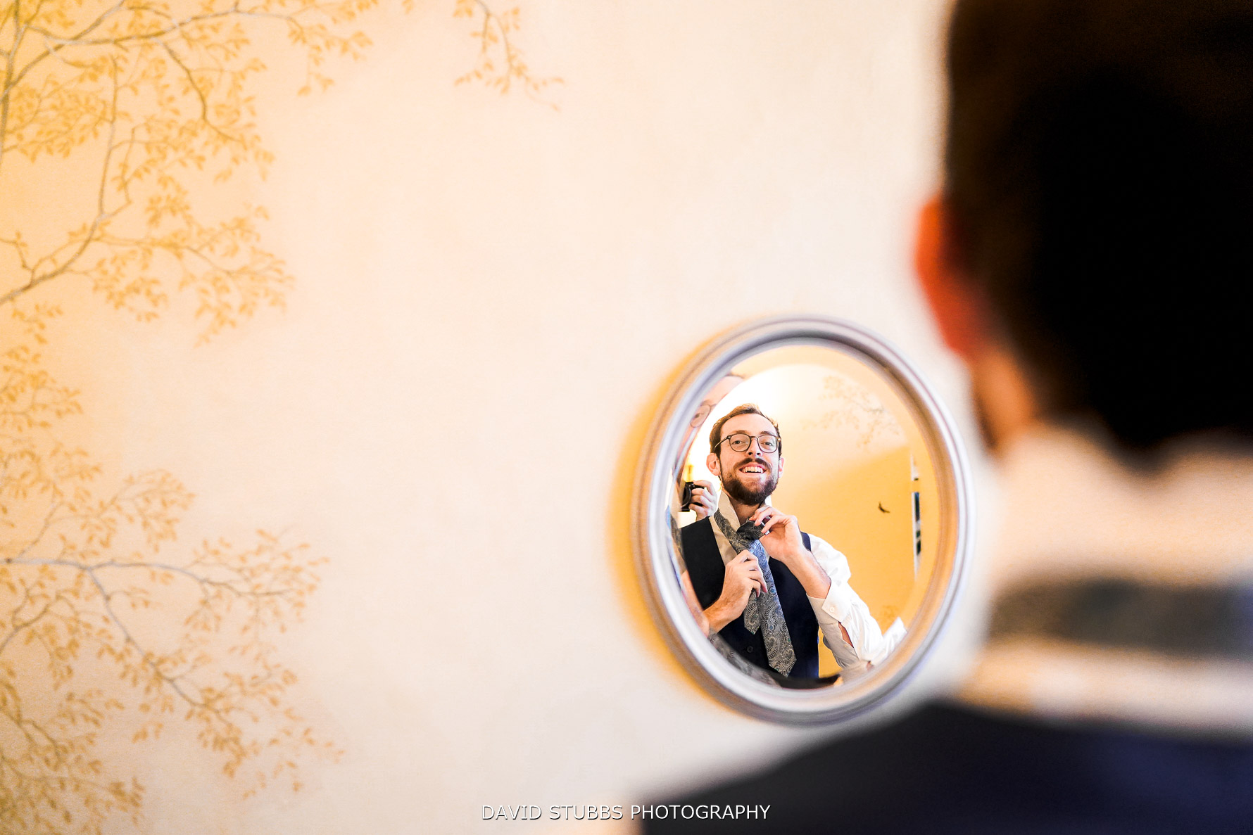 reflection photo in mirror