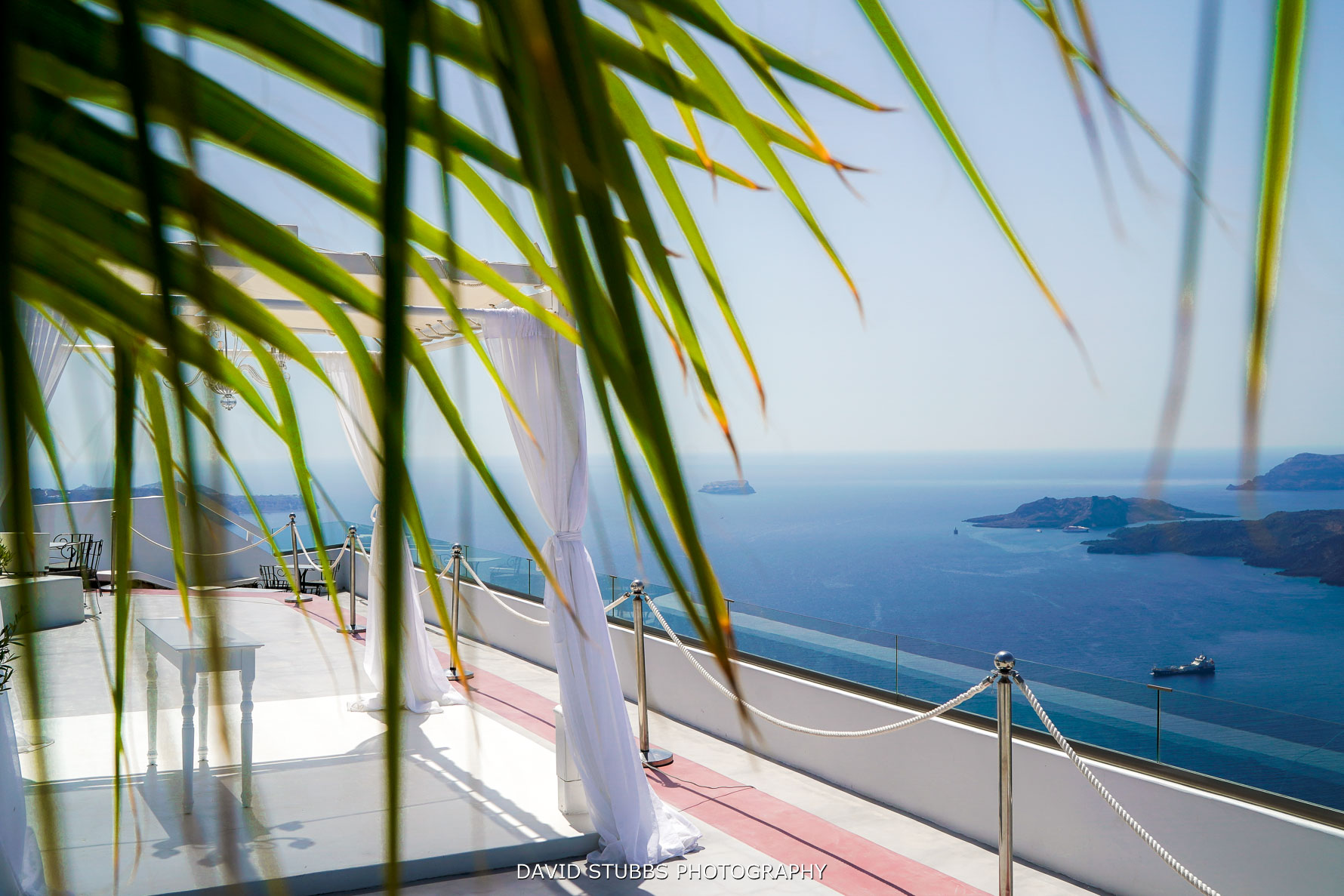 Santorini gem with view