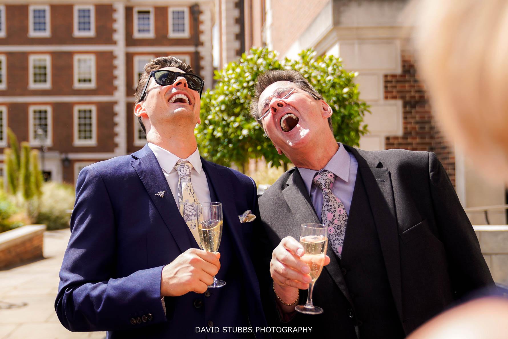 wedding guest reaction