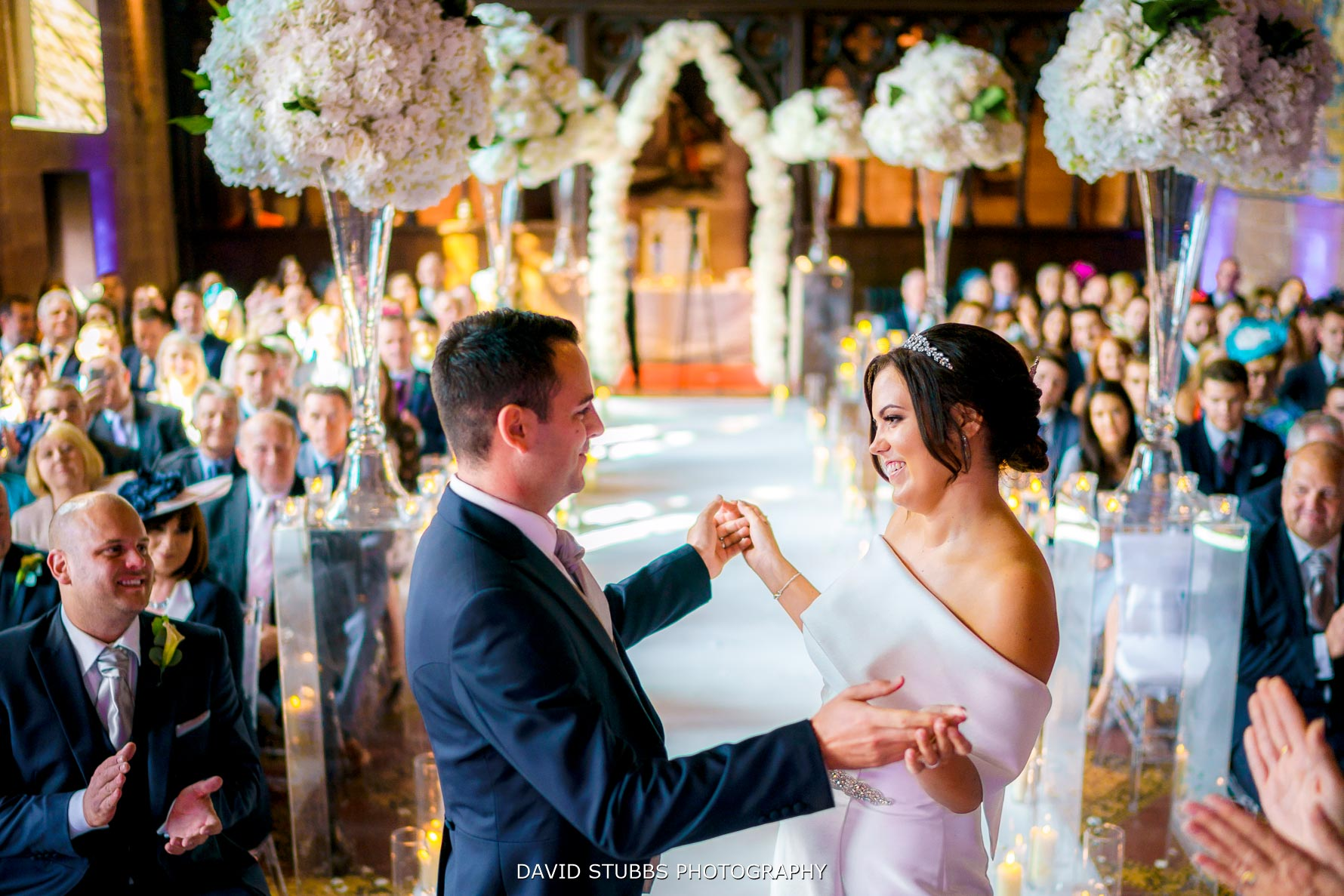 congratulations to the newly married couple at peckforton castle