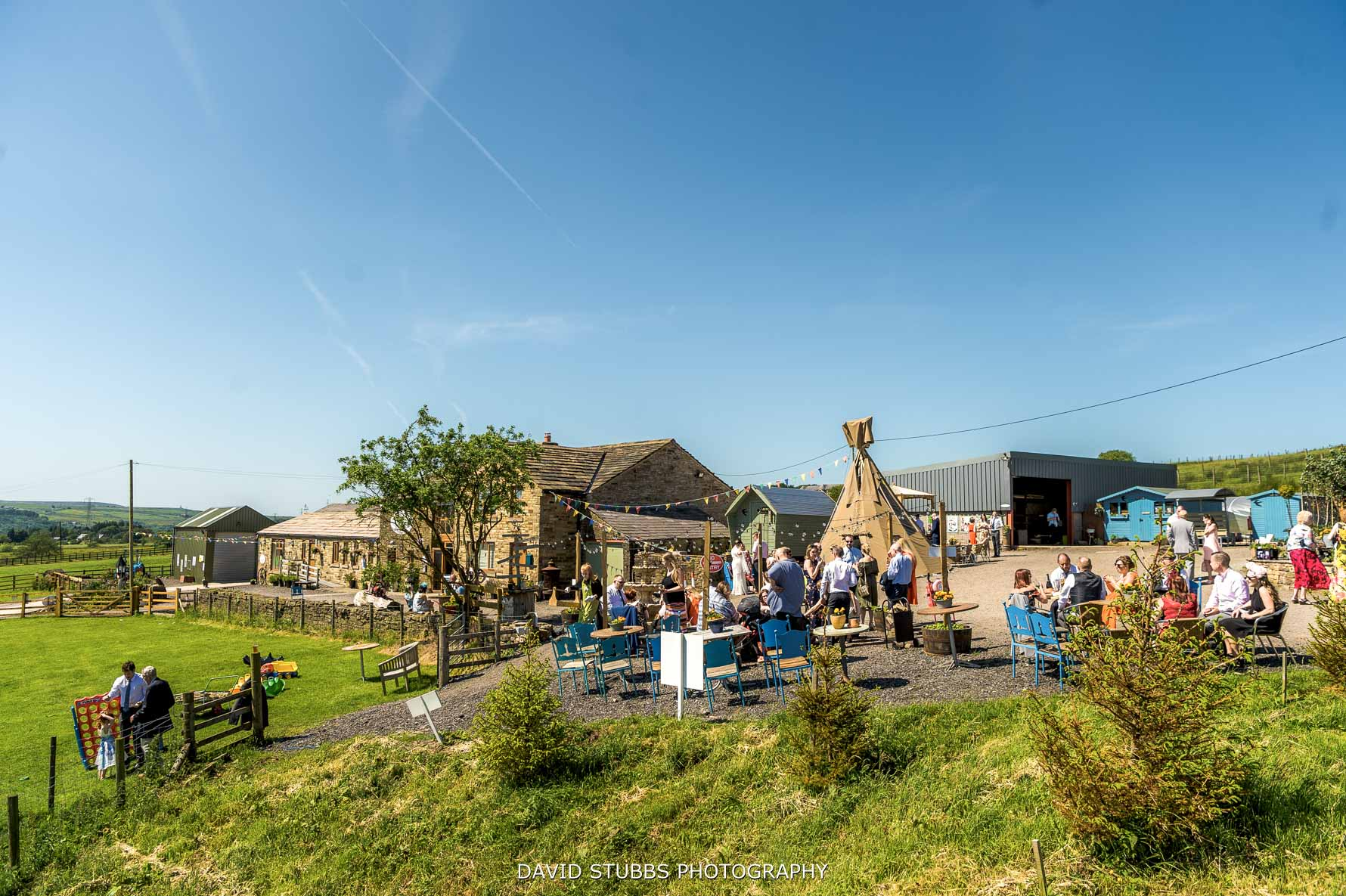 wellbeing farm in the summer