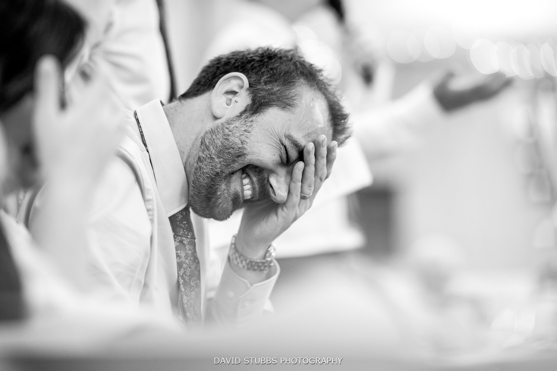 reaction to speeches at grooms wedding