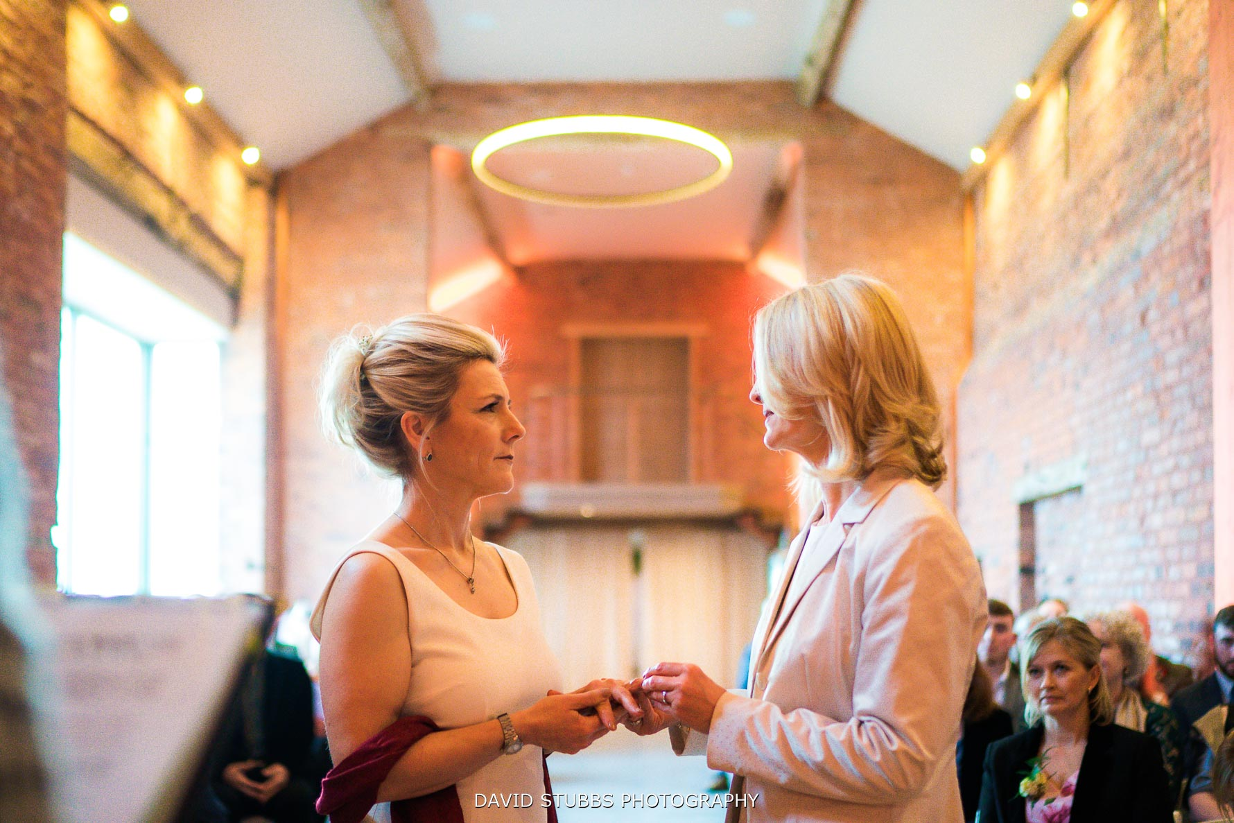 wedding ceremony at the holford estate