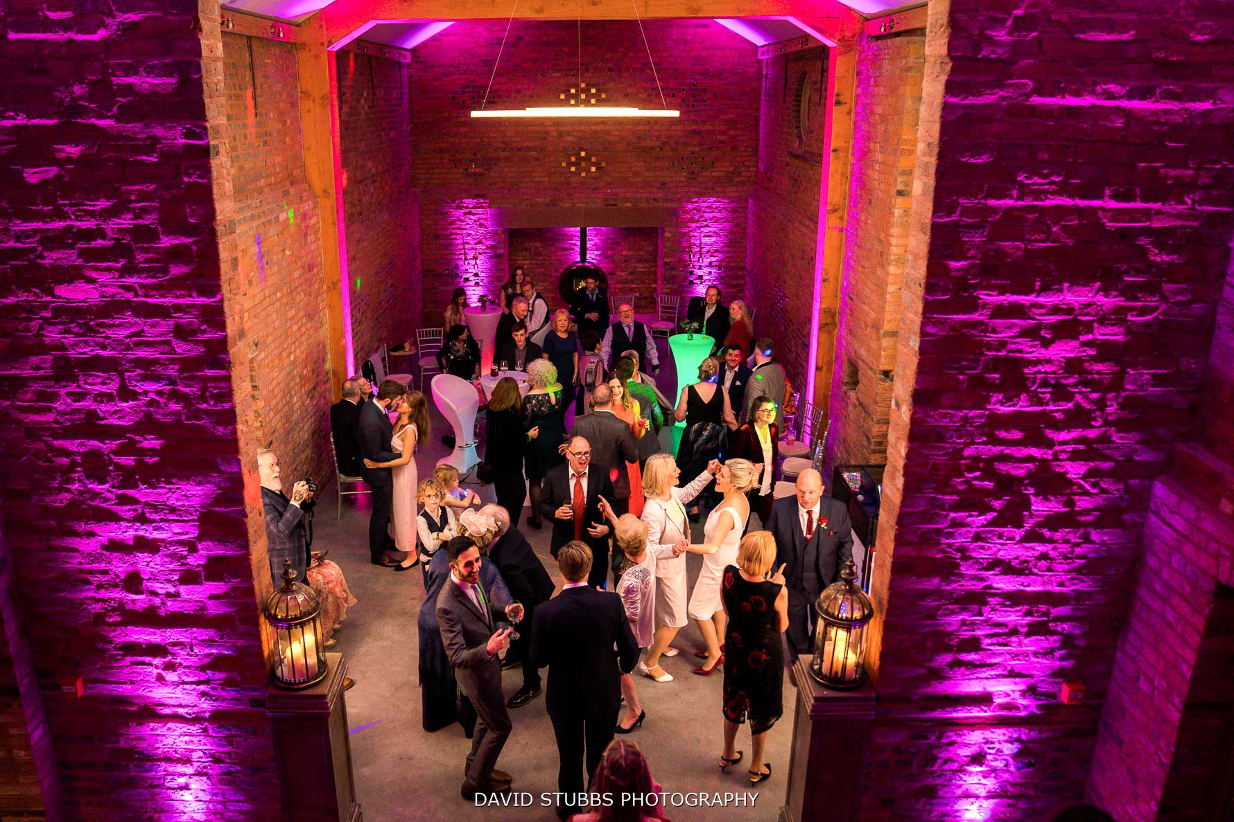 the holford estate dancing in the wedding barn