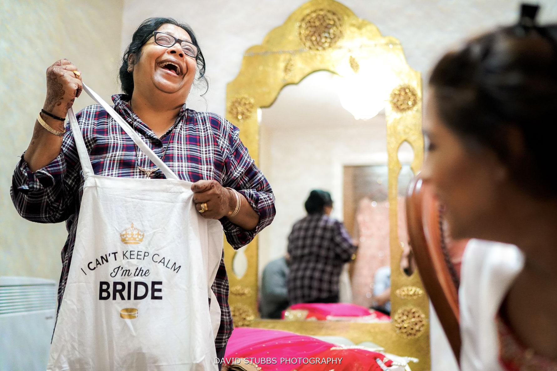 brides mum